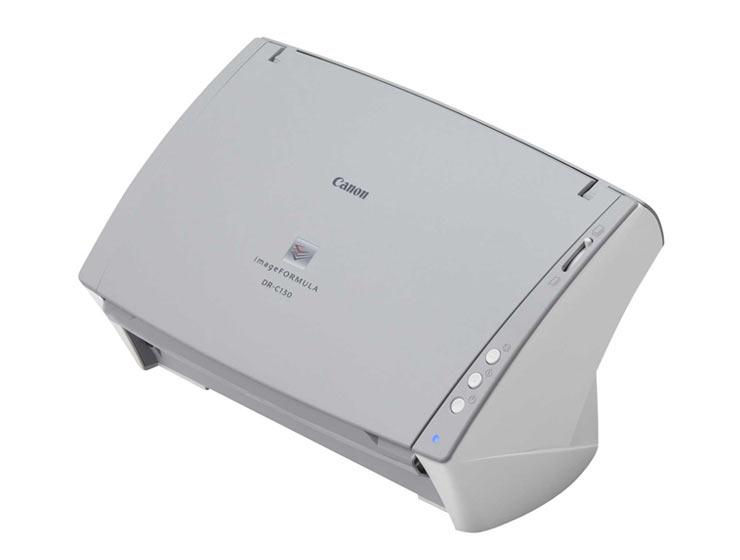 scanner canon dr c130 mach scanners solutions. Black Bedroom Furniture Sets. Home Design Ideas